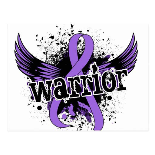 Warrior 16 Hodgkin's Lymphoma Post Card