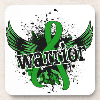 Warrior 16 Kidney Disease Beverage Coaster