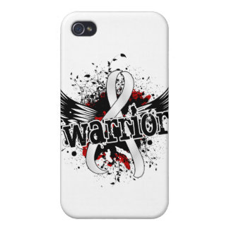 Warrior 16 Lung Cancer Cover For iPhone 4