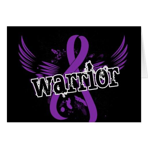 Warrior 16 Lupus Greeting Card