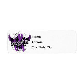 Warrior 16 Lupus Return Address Label