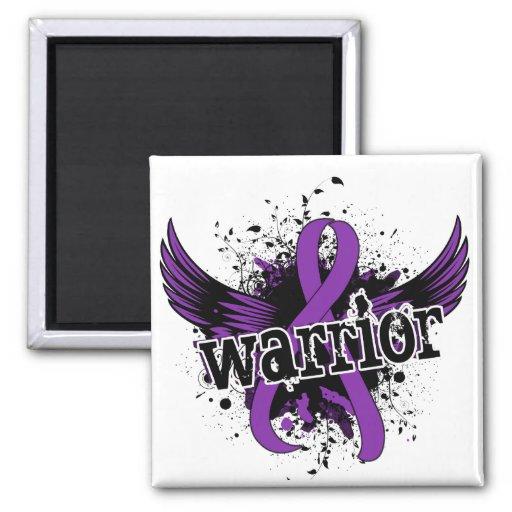 Warrior 16 Lupus Fridge Magnet
