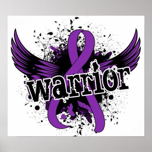 Warrior 16 Lupus Poster