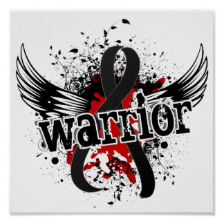 Warrior 16 Melanoma Print