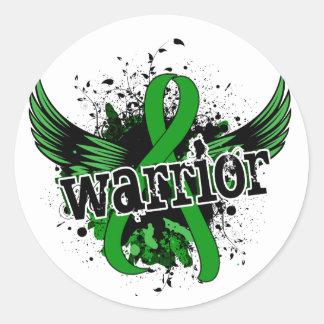 Warrior 16 Mental Health Round Sticker