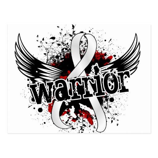Warrior 16 Mesothelioma Postcards