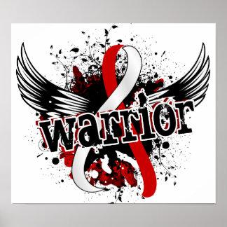 Warrior 16 Oral Cancer Poster