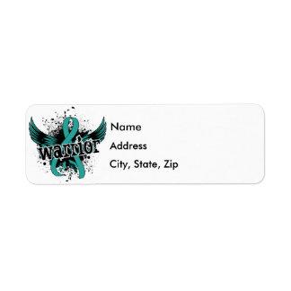 Warrior 16 PKD Return Address Label