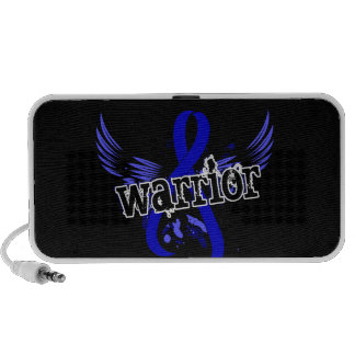 Warrior 16 Rectal Cancer iPhone Speakers