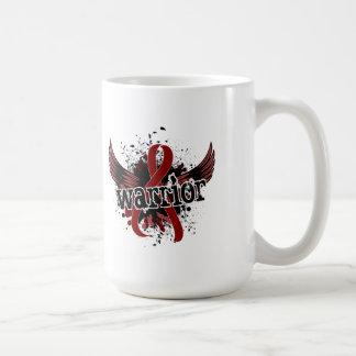 Warrior 16 Sickle Cell Disease Basic White Mug