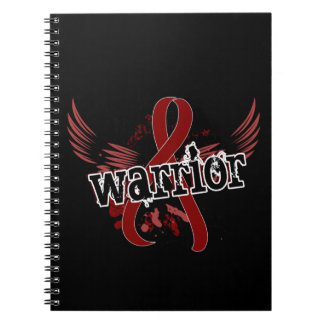 Warrior 16 Sickle Cell Disease Spiral Notebook