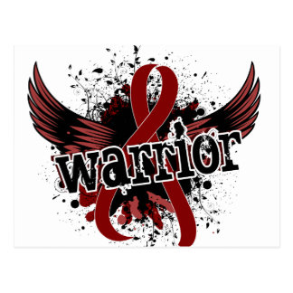 Warrior 16 Sickle Cell Disease Postcard