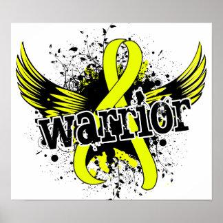 Warrior 16 Testicular Cancer Poster