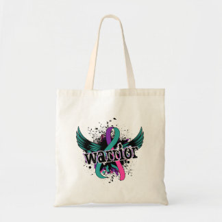 Warrior 16 Thyroid Cancer Tote Bags