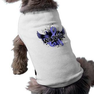 Warrior 16 Thyroid Disease Dog Tee Shirt
