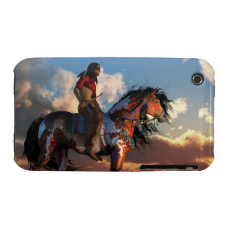 Warrior and War Horse iPhone 3 Case
