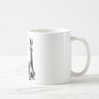 WARRIOR BORN COFFEE MUGS