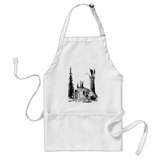WARRIOR BORN ~ STANDARD APRON
