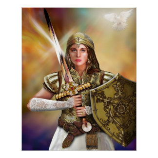 Warrior Bride of Christ Poster