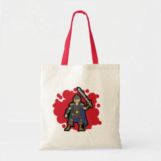 Warrior Budget Tote Bag