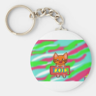 Warrior Cats Basic Round Button Key Ring