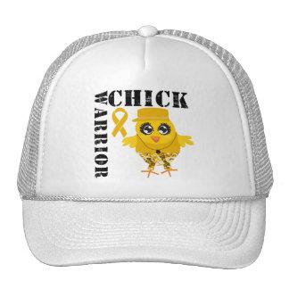 Warrior Chick Appendix Cancer Trucker Hat