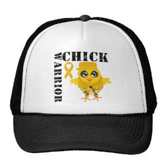Warrior Chick Appendix Cancer Mesh Hats