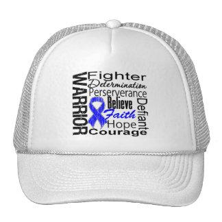 Warrior Collage Rectal Cancer Mesh Hat