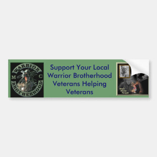 warrior_darkened_front_rot_180_rot_180, miaforg... bumper sticker