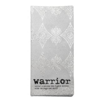 Warrior Definirion Cloth Napkin