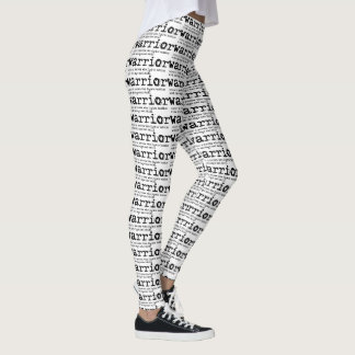 Warrior Definition Print Leggings