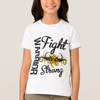 Warrior Fight Strong Appendix Cancer T-Shirt