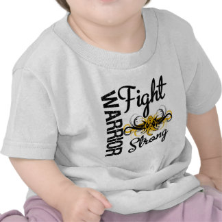 Warrior Fight Strong Appendix Cancer T Shirts