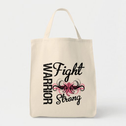Warrior Fight Strong Breast Cancer Bag