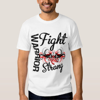 Warrior Fight Strong Oral Cancer Tee Shirt