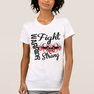 Warrior Fight Strong Oral Cancer T Shirts