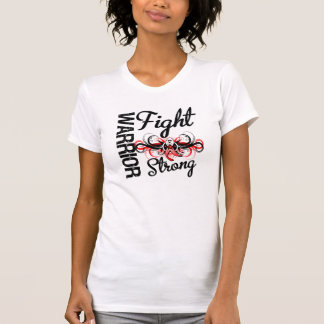 Warrior Fight Strong Oral Cancer T Shirt