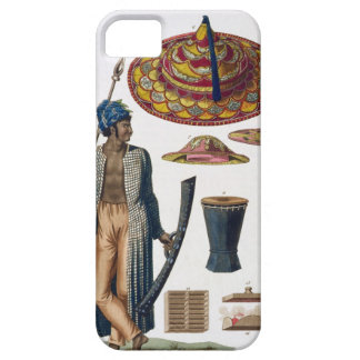 Warrior from Island of Guebe with items of Native Barely There iPhone 5 Case