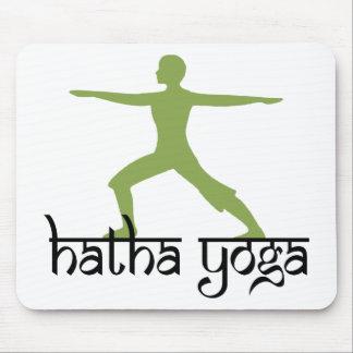 Warrior II Pose Hatha Yoga Gift Mousepad