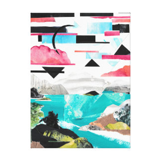 Warrior in the Wilderness Canvas Print
