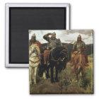 Warrior Knights, 1881-98 Magnet