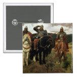 Warrior Knights, 1881-98 Pin