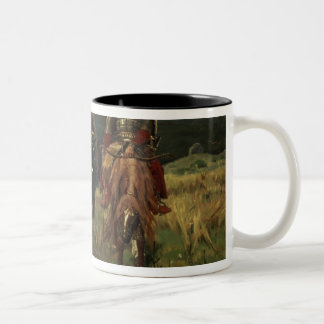 Warrior Knights, 1881-98 Two-Tone Coffee Mug