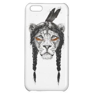 Warrior lion iPhone 5C cases