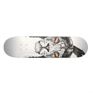 Warrior lion skateboard