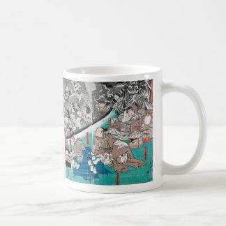 Warrior Minamoto Raiko and the Earth Spider Coffee Mug