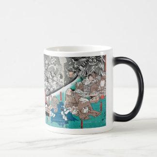 Warrior Minamoto Raiko and the Earth Spider Magic Mug