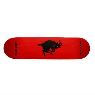 Warrior Monk Red Goat Skate Decks