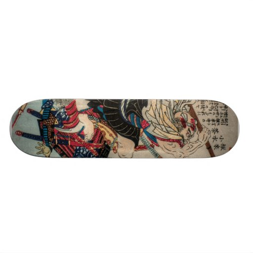 Warrior Monk Skate Boards