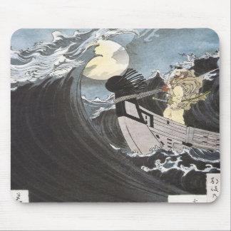Warrior Monk, Yoshitoshi, 1886 Mousepad